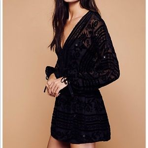 For Love & Lemons Black jadore mini dress